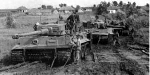 German tanks in Normandy