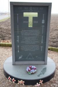 Sapper Hackett memorial