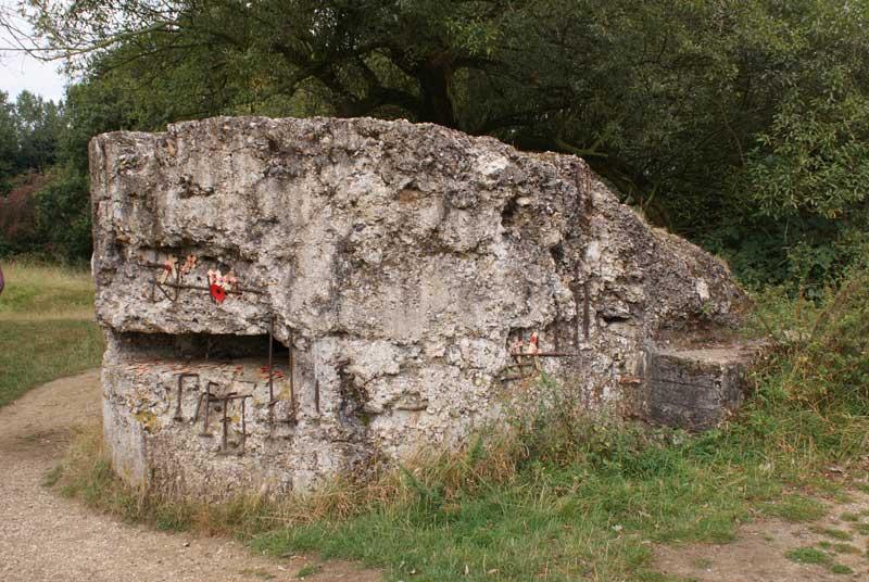 Bunker-Hill-60 on battle field tour
